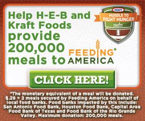 H-E-B Huddle to Fight Hunger