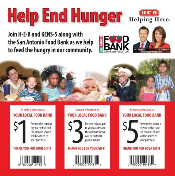 San Antonio Food Bank Shopping List