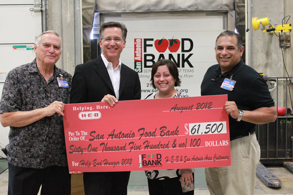 HEB and its Customers Help End Hunger The San Antonio Food Bank